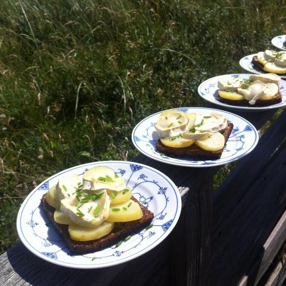 Kartoffelmad grillet på Lyng