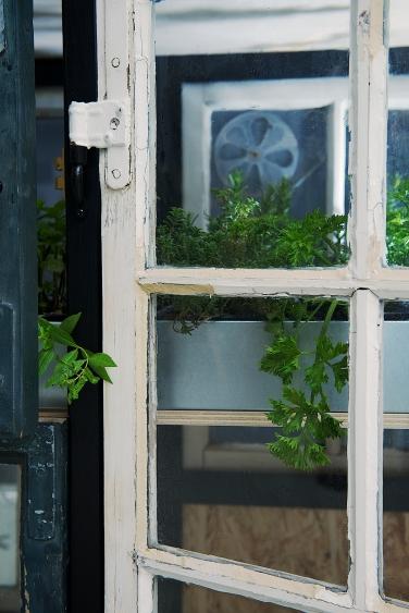 Green Room Divider / Detalje