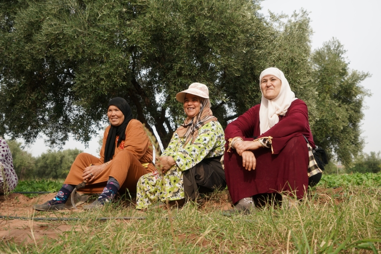 Womens cooperative initiated by High Atlas Foundation