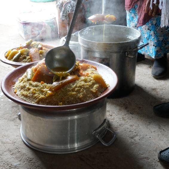 Invited for dinner / Photo: NordForsk: Marrakech, Marokko